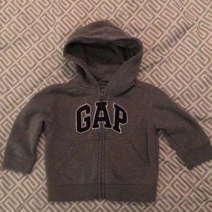 Gap zipper hoodie 6-12 months